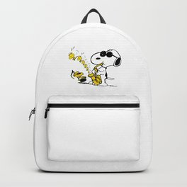 snoopy sing Backpack