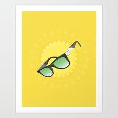 An ultimate summer gadget Art Print