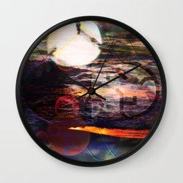 Oscillation Night Wall Clock
