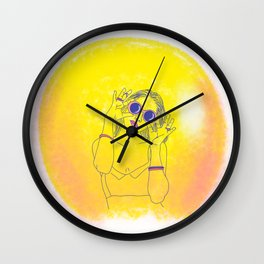 HOT IN THE SUMMER Wall Clock