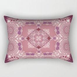 AZIZA RED  Rectangular Pillow