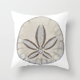 sandollar Throw Pillow