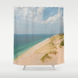 Summer at the Dunes Shower Curtain