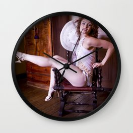 More Glamour Wall Clock