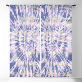Indigo Tie-Dye Blackout Curtain