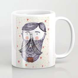 Bearded Lumberjack Man Coffee Mug