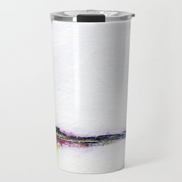 Frozen - Small Abstract Landscape Travel Mug
