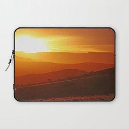 Golden morning in Africa Laptop Sleeve