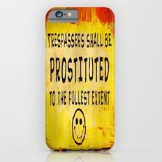 TRESPASSERS - 06 iPhone 6s Slim Case