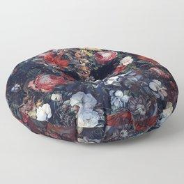Flower Skull II Floor Pillow