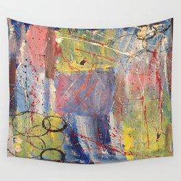 Treasure, original artwork by Stacey Brown Wall Tapestry
