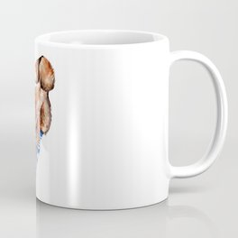 Smiling Red Fox in Blue Socks Coffee Mug