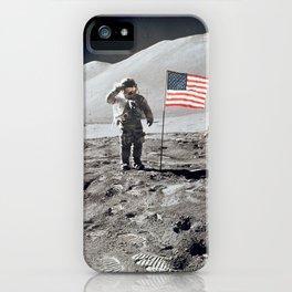 Apollo 15 - Military Salute iPhone Case