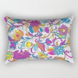 F  L O W E R S Rectangular Pillow