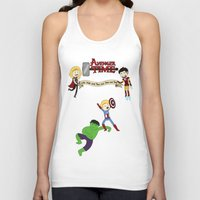 avenger Tank Tops featuring Avenger Time! by Det Guiamoy