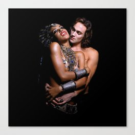 Queen Of The Damned. Canvas Print