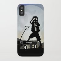 mcfly iPhone & iPod Cases featuring McFly Kid by Andy Fairhurst Art