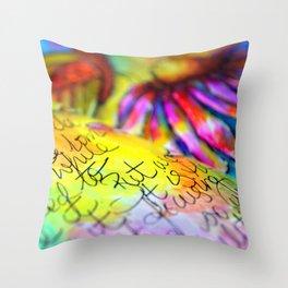 Art of D2 Throw Pillow