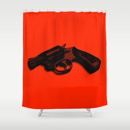 Hammer and barrell Shower Curtain