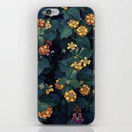 Beautiful flowers over my neighborhood iPhone Skin