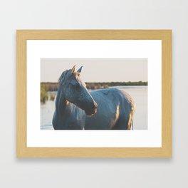 in portrait ... Framed Art Print