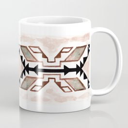 Geometry & Earth Pattern Coffee Mug