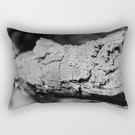 Close up Bark Rectangular Pillow