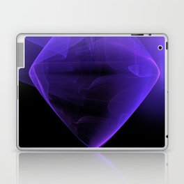 Magic stone - Ultra Violet Laptop & iPad Skin