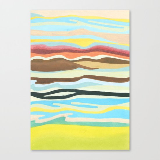 colorful perspective Canvas Print