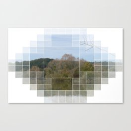 Many Parts - LANDSCAPE-AUSTRIA Canvas Print