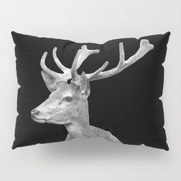 Deer Black Pillow Sham