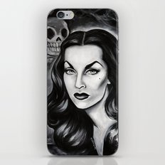Vampira : The Original Glamour Ghoul iPhone Skin