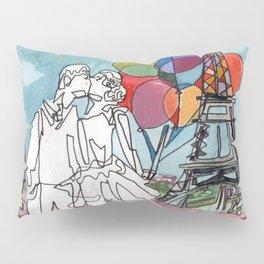 Kissing in Paris Pillow Sham
