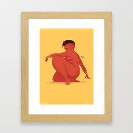 WOMAN69 Framed Art Print