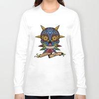 majora Long Sleeve T-shirts featuring La Santa Majora by Faniseto
