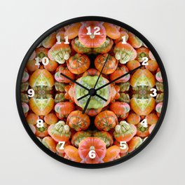 Turban Squash Wall Clock