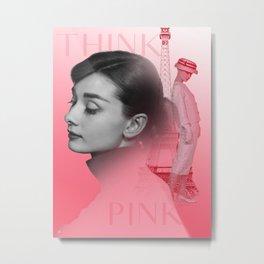 Pink Audrey II Metal Print