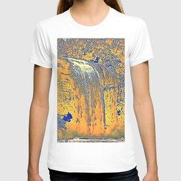 "series waterfall ""Cachoeira Grande"" II T-shirt"