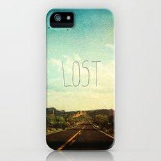 Lost iPhone (5, 5s) Slim Case