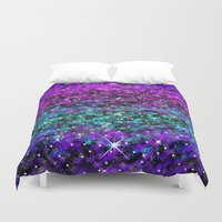 starry night Duvet Covers featuring Starry Night by 2sweet4words Designs