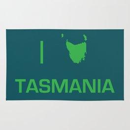 I heart Tasmania Rug