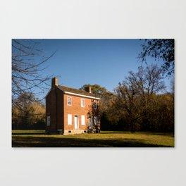 The Gordon House - Natchez Trace Canvas Print