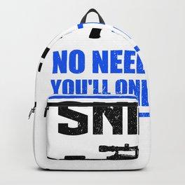 Sniper No Need To Run | Gun Backpack