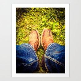 Country Girl at Heart Art Print