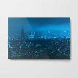 TOKYO 21 Metal Print