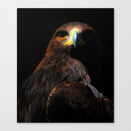 Invictus Golden Eagle | Painting | Bird Canvas Print