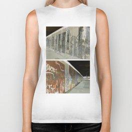 The Berlin Wall IV Biker Tank