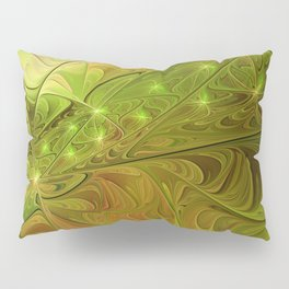 Hope, Abstract Fractal Art Pillow Sham