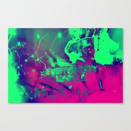 everybody dance Canvas Print