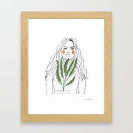 Green Time in the Meantime - 2 Framed Art Print